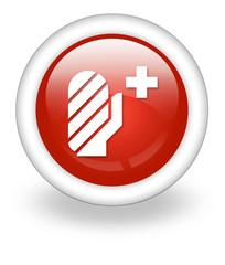 "Light Red Icon ""Injury / Emergency"""