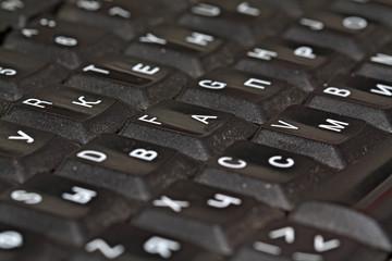 blackenning keyboard
