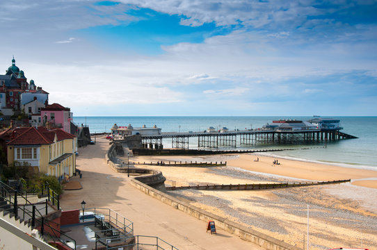 Cromer. seaside town in Norfolk, England