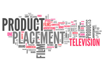 "Word Cloud ""Product Placement"""