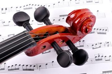 Violin & Note