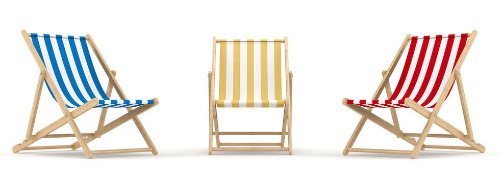 3 deck chair