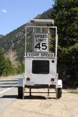 Speed radar