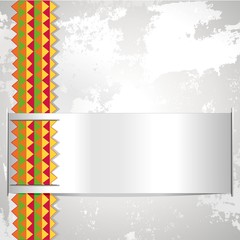Etnico Sfondo Astratto-Ethnic Africa Label Abstract Background