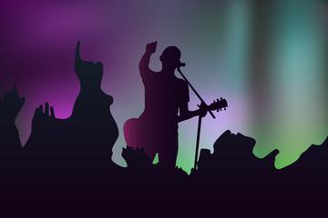silhouette singer