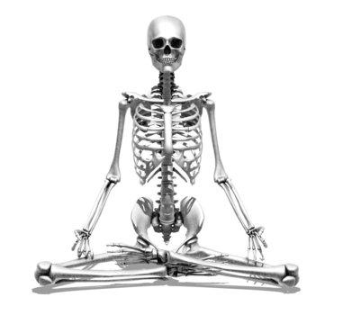 Meditation Skeleton