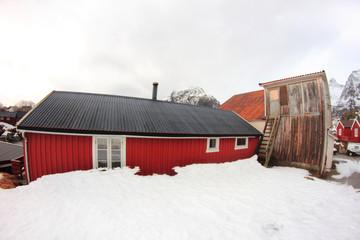 Old cabins of Å