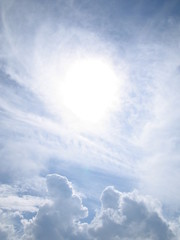 天空の太陽