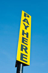 Pay sign