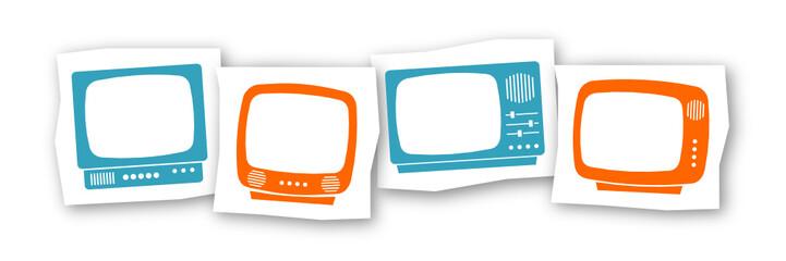 vintage tv frames 3