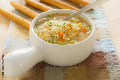 Рыбный суп с рисом рецепт с фото