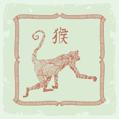 chinese zodiac- monkey