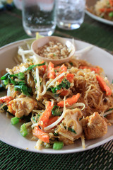 Glass noodles - Pad Thai