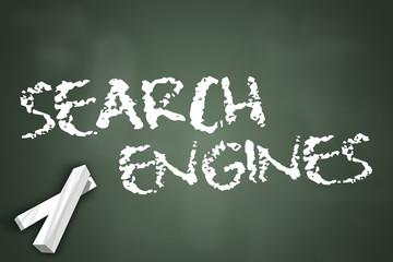 "Chalkboard ""Search Engines"""