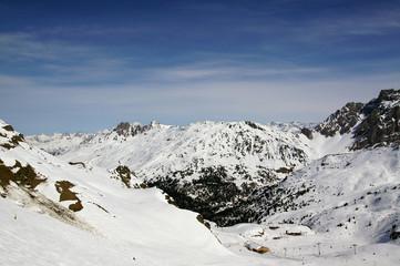 Domaine Les Trois Vallées dans les Alpes