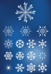 Snowflakes Collection Set