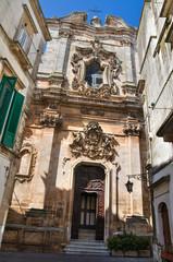 St. Domenico church. Martina Franca. Puglia. Italy.