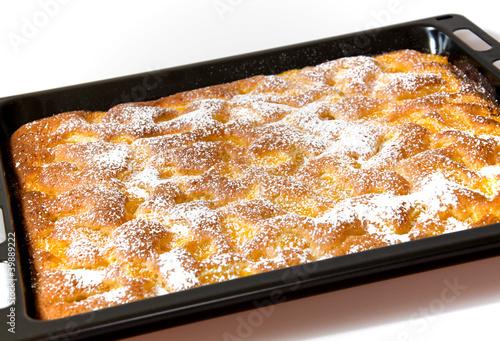 Schneller Blechkuchen Mit Mandarinen Stockfotos Und Lizenzfreie