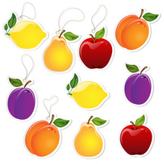 Etichette con frutta - Fruit Labels