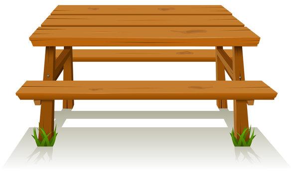 Picnic Wood table