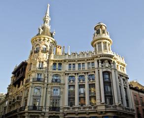 Building in Plaza de Canalejas in Madrid