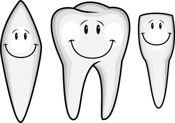 Tooth cartoon collection