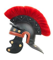 Simulation of a Roman centurion helmet