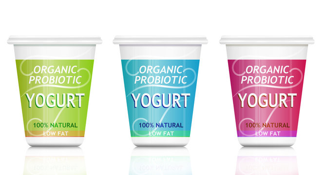 Probiotic yogurt.