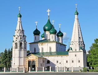 Prophet Elijah's Church in Yaroslavl, Russia