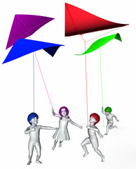 3D People - Kite