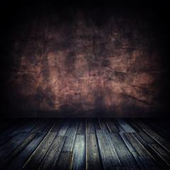 Old Grunge Wooden Floor Room