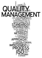 "Word Cloud ""Quality Management"""