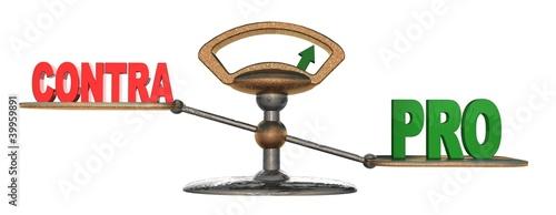 3d waage pro contra stockfotos und lizenzfreie bilder auf bild 39959891. Black Bedroom Furniture Sets. Home Design Ideas