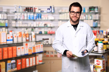 young pharmacist