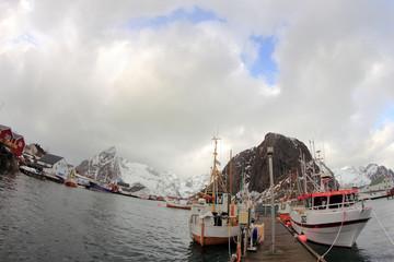 Hamnøy's boats