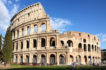 Poster de jardin Rome Colosseum in Rome, Italy