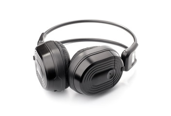 Black headphone