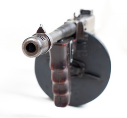 machine gun closeup