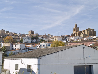 Cáceres, city declared World Heritage, Spain.