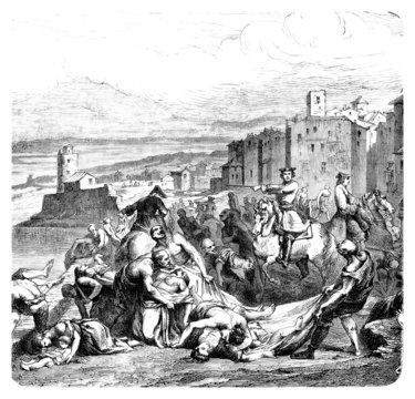 Epidemic - 8th century