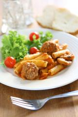 Meatball ans Sausage Pasta