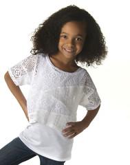 Little Girl ( African American )