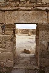 HISTORICAL ROMAN SITE UMM AR-RASAS IN JORDAN