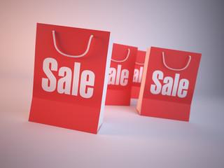 Fototapeta Shopping bag obraz