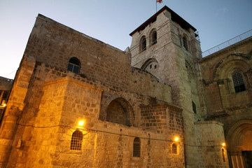 Church of the Holy Sepulchre Way of Suffering Jerusalem Israel