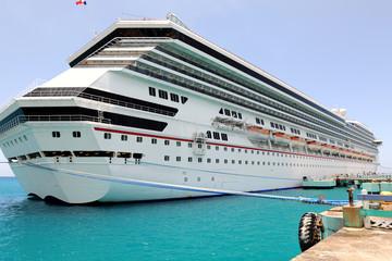 Cruise Ship at Port