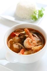 Thai Tom Yum Seafood Soup