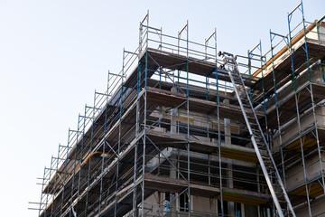 Baustelle  - Hausbau