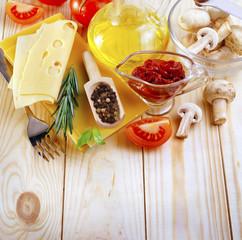 ingredients for lasagna