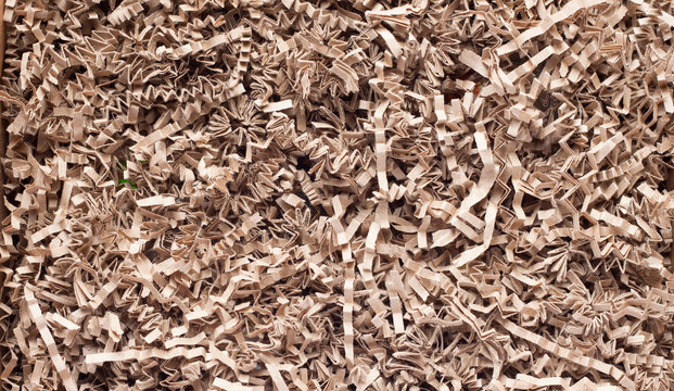 Texture of shredded paper for Gifting, Shipping and Stuffing
